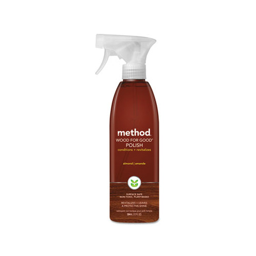 Method 00086-1 TRG Wood for Good Surface Cleaner - Almond  12 oz. - Case of 6