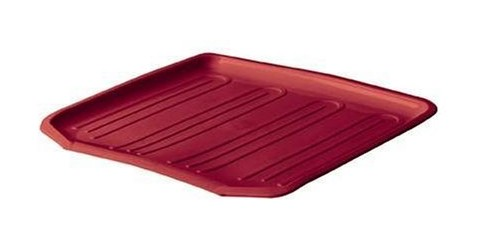 Rubbermaid 1180MARED RED Antimicrobial Drain Board - Red - Case of 6