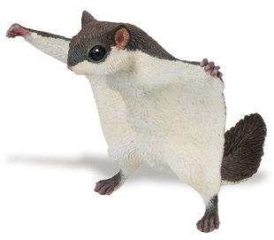 Safari 250229 Flying Squirrel Animal Figure Pack of 2