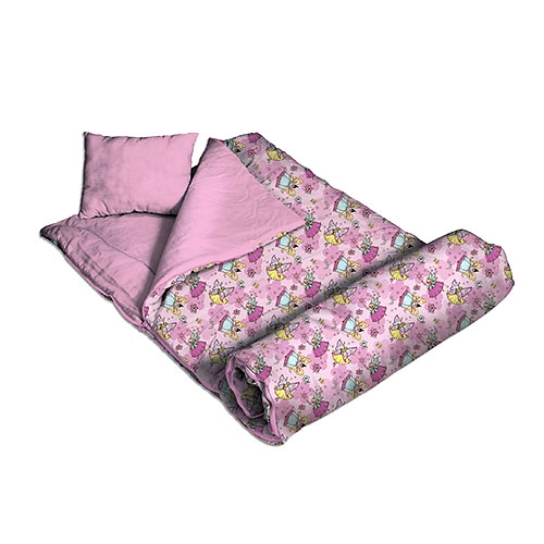 Wildkin 17033 Fairies Sleeping Bag