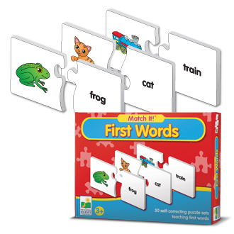 Learning Journey 025017 Match It First Words