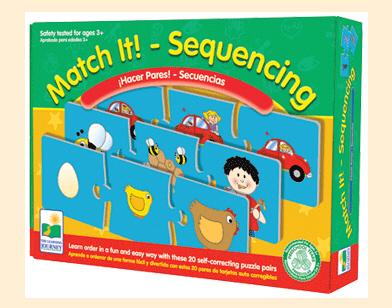 Learning Journey 419212 Match It Sequencing