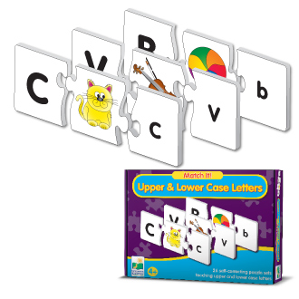 Learning Journey 866047 Match It Upper & Lower Case Letters