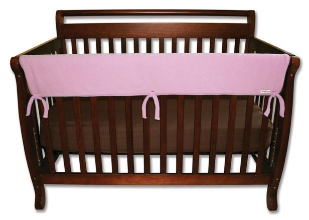 Trend-Lab 109077 Rail Cover - 51   Pink Fleece