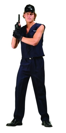 RG Costumes 80436M FBI Agent Costume  Size Adult Medium 3638