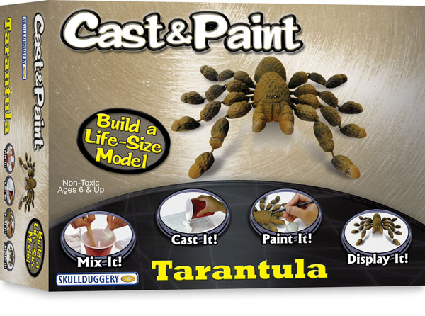 Skullduggery 07800 Tarantula Cast And Paint Kit