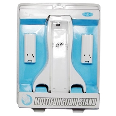 CET Domain 10300306 Innax Wii Charger Station plusCooling Fan plus2 x Battery- White