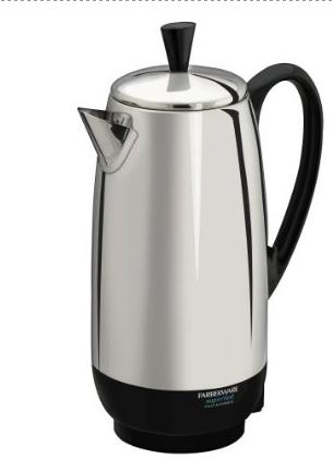 Farberware FCP412 12-Cup Percolator hstz5442