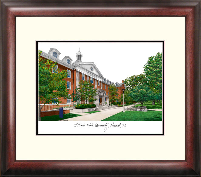 Campus Images IL966R Illinois State University Alumnus Frame