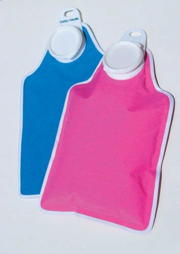 Hot Water Bottle with Soft Fabric Cover - 2473
