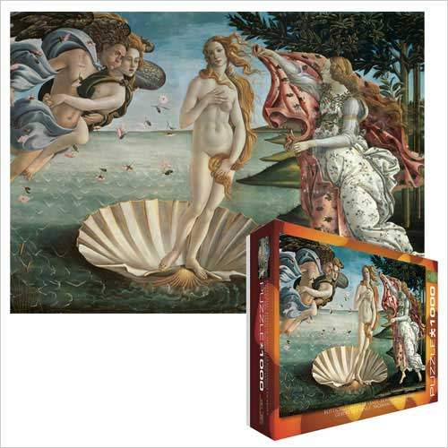 EuroGraphics 6000-5001 Botticelli - Birth Venus Jigsaw Puzzle