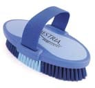 7.5 Inch Large Equestrian Sport Oval Body Brush - Blue  - 2170-3