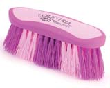 8 Inch Large Equestrian Sport Dandy Brush - Purple  - 2174-2