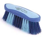 8 Inch Large Equestrian Sport Dandy Brush - Blue  - 2174-3