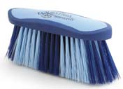 8 Inch Large Equestrian Sport Flick Brush - Blue  - 2178-3