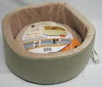 16 Inch Thermo Kitty Bed - Sage  - 3193