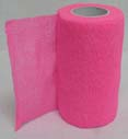 4 in. x 5 yard Wrap-It-Up Flex Bandage Hot Pnk  - 40714332