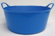15 Liter Tubtrugs Small Shallow - Blue  - SP15BL