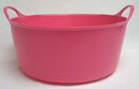 15 Liter Tubtrugs Small Shallow - Pink  - SP15PK