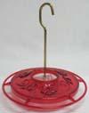 Aspects Inc 179085 Little Fancy Hummingbird Feeder - Red