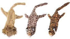 25 Inch Large Skinneez Jungle Cats - Assorted  - 5550