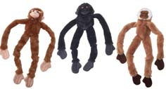 16 Inch Large Skinneez Monkey - Assorted  - 5546
