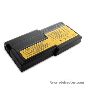 Denaq DQ-92P0987-6 High Capacity Battery for IBM ThinkPad R R40e Laptops- 58Whr