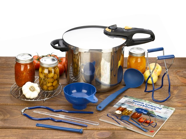 Fagor America 918010006 Duo 9 Piece Pressure Canning Set