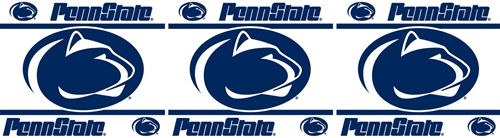 Roommates 04TRWPA4PAS0615 Penn State NCAA Peel & Stick Border