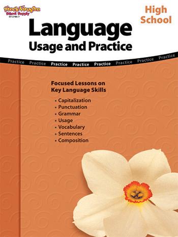 Houghton Mifflin Harcourt SV-27867 Language Usage & Practice High School