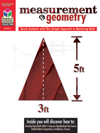 Houghton Mifflin Harcourt SV-04379 Middle School Math Collection Measurement & Geometry