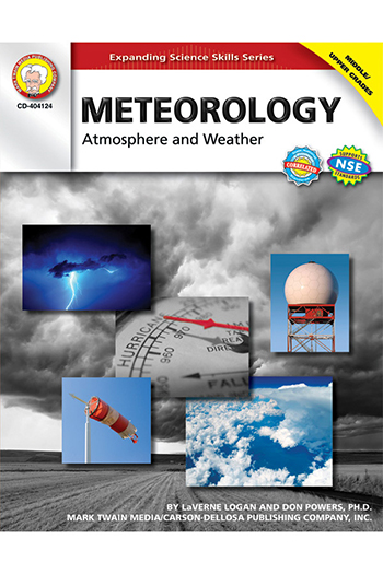 Carson Dellosa CD-404124 Meteorology Atmosphere & Weather Gr 5-8
