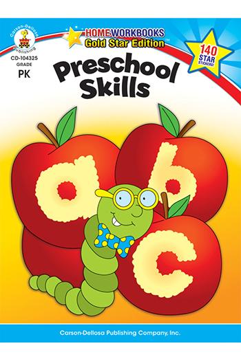 Carson Dellosa CD-104325 Preschool Skills Home Workbook Gr Pk