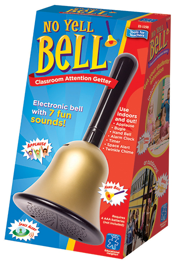 Educational Insights EI-1250 No Yell Bell