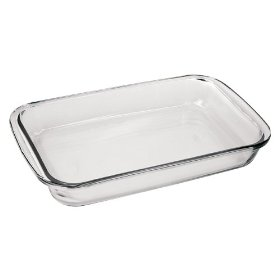 Marinex GD16534019 2.3 Quart Rectangular Bake Dish  Pack of 6