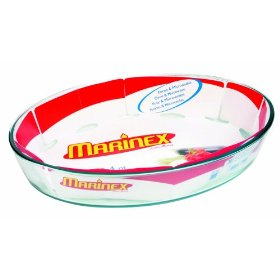 Marinex GD16662010 3.4 Quart Oval Bake Dish  Pack of 6