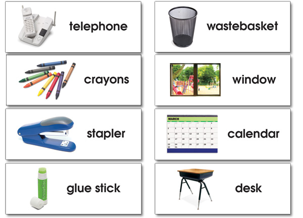 North Star Teacher Resources Ns Language Cards Basic Classroom Labels Packs