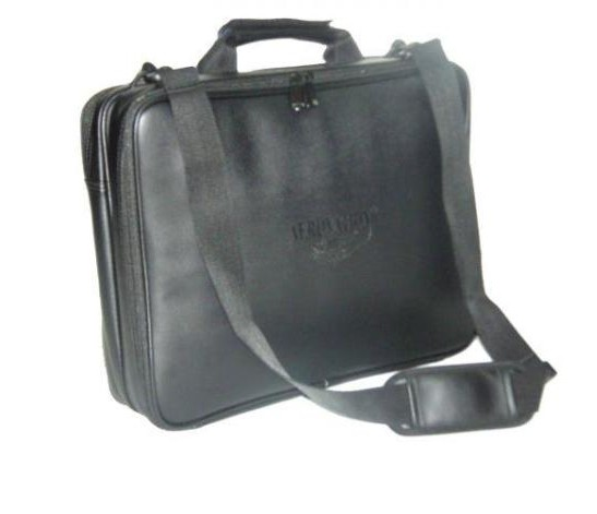 Real and Faux Leather Computer Bags