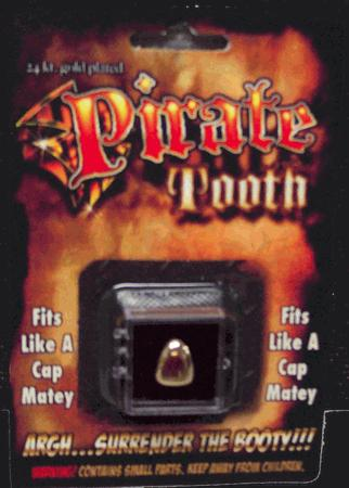 Billy Bob Teeth 10047 Pirate Tooth Fake Teeth