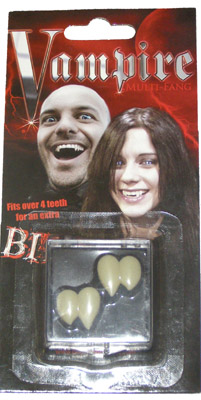 Billy Bob Teeth 10049 Multi Vampire Fangs Fake Teeth