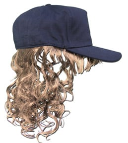 Billy Bob Teeth 10081 Billy Ray Hat with Blonde Hair