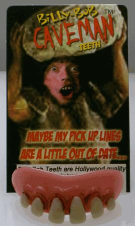Billy Bob Teeth 10011 Caveman Fake Teeth
