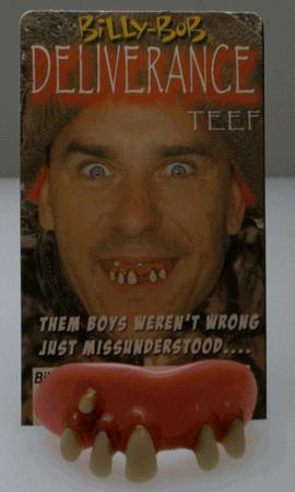 Billy Bob Teeth 10031 Deliverance Fake Teeth