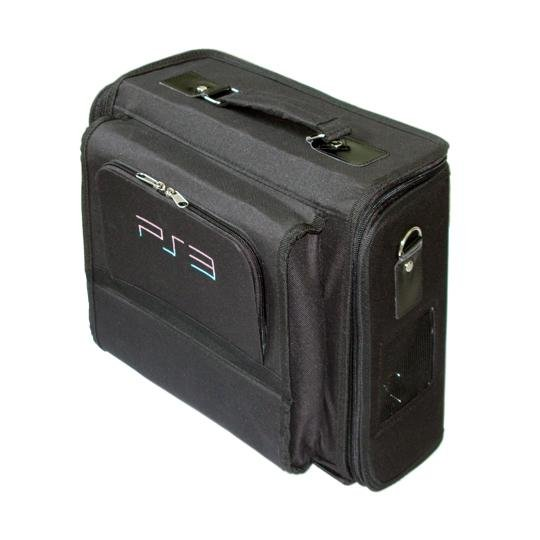 CET Domain 10021603 Travel Game Carry Bag Case for SONY Playstation 3 PS3