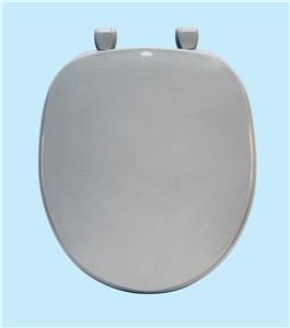 Centoco 200-001 White Premium Plastic Toilet Seat