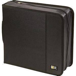 Case Logic 208-CD Nylon Media Wallet CDW-208 BLACK