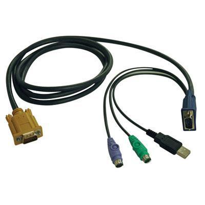 Tripplite B020-U08-19-K 8 Port KVM Switch 19   LCD