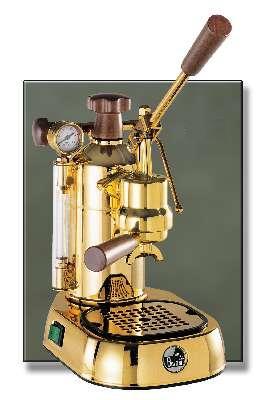 European Gift PPG-16 La Pavoni    Professional   Gold Plated Espresso Machine EG581