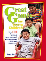 Gryphon House 11308 Great Games For Young Children