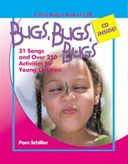 Gryphon House 11745 Bugs  Bugs  Bugs - 21 Songs and Over 250 Activities for Young Children